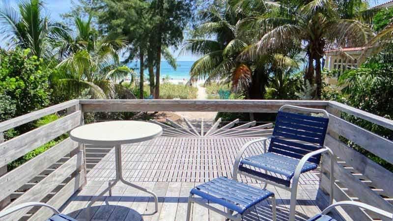 Open Deck & Beach View