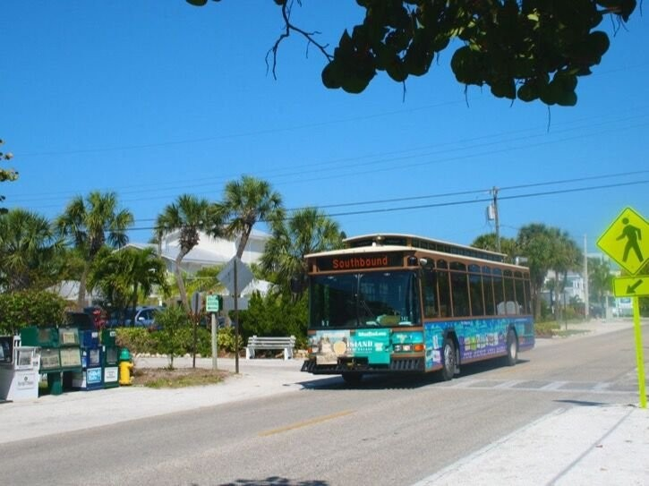 This free trolley stop is located 3 minutes from the villa
