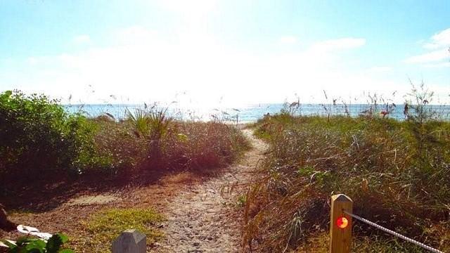 Beach Just A Short Walk Away