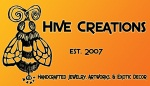 Hive Creations Handcrafted Jewelry, Art and Decor