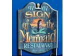 The SIgn of the Mermaid Restaurant