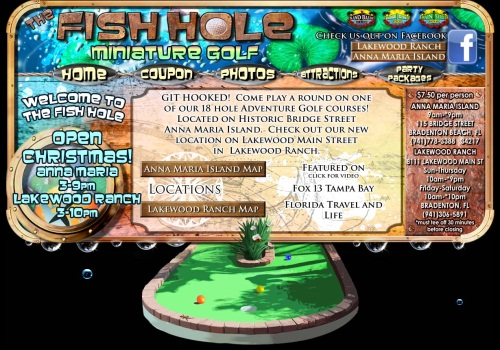 The Fish Hole - Miniature Golf