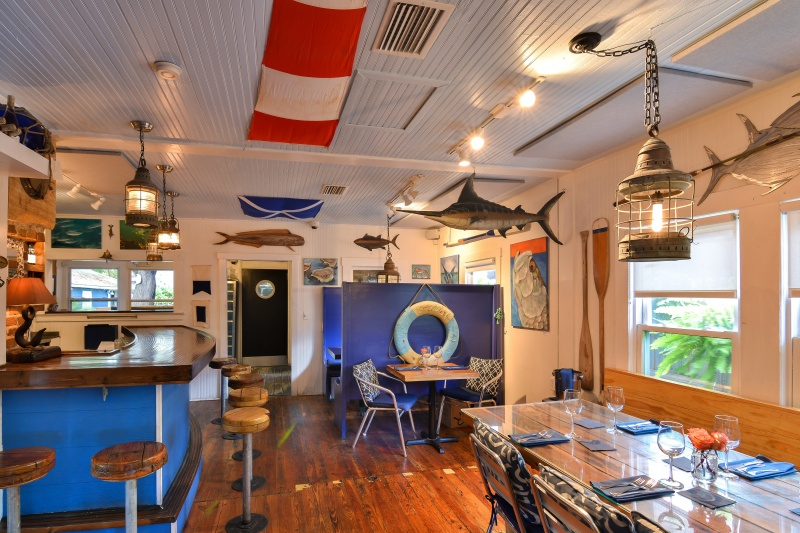 Blue Marlin Seafood Restaurant on Anna Maria Island