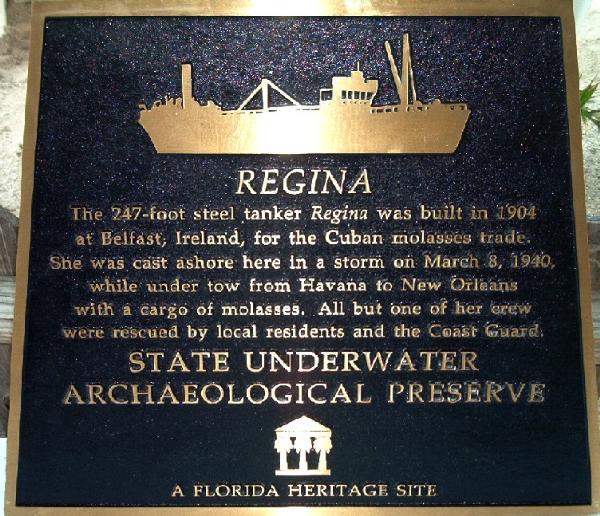 Regina Sugar Barge bradenton beach