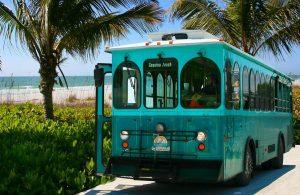 free trolley anna maria